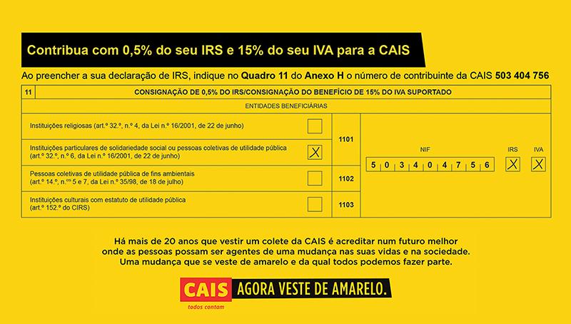 Associação CAIS - Campanha IRS
